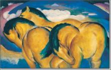 The small yellow horses