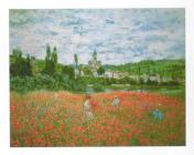 Field of poppies, Vétheuil