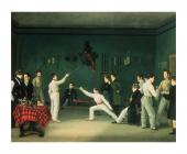 A Fencing Scene, 1827